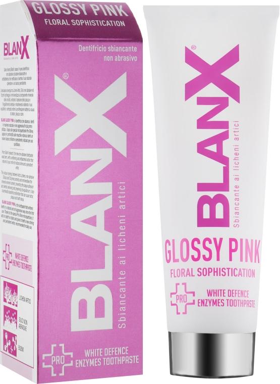 Зубная паста «Glossy Pink» - Blanx Pro Glossy Pink Toothpaste
