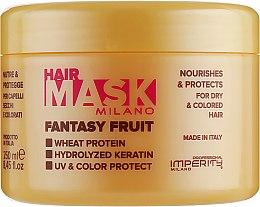 Духи, Парфюмерия, косметика Маска для сухих и окрашенных волос - Imperity Milano Fantasy Fruit Hair Mask