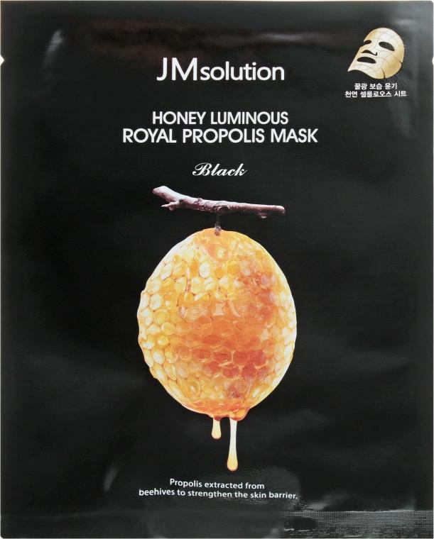 Антивозрастная маска с прополисом - JMsolution Honey Luminous Royal Propolis Mask