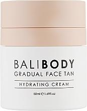 Парфумерія, косметика Крем для обличчя з ефектом автозасмаги - Bali Body Gradual Face Tan Hydrating Cream