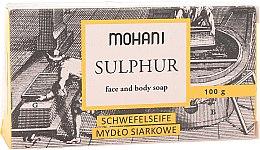 Духи, Парфюмерия, косметика Серное мыло для лица и тела - Mohani Sulphur Face and Body Soap