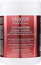 Духи, Парфюмерия, косметика Концентрат корицы с кофеином, маслом гвоздики и апельсином - BingoSpa Cinnamon-Caffeine Concentrate