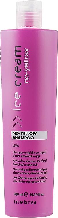 Шампунь для светлых волос - Inebrya Ice Cream No-Yellow Shampoo