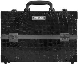 Духи, Парфюмерия, косметика Косметический кейс - Inglot Makeup Case Crocodile Leather Pattern Medium KC-PAC01
