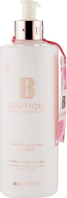 Лосьон для рук и тела - Grace Cole Boutique Cherry Blossom & Peony Body & Hand Lotion