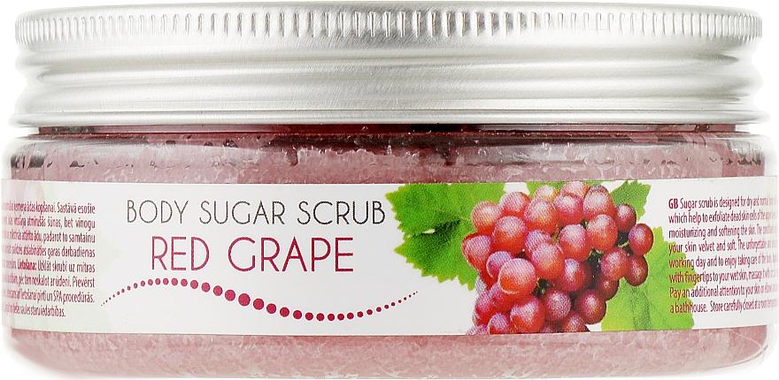 "Скраб для тела сахарный ""Красный виноград"" - Ceano Cosmetics Body Sugar Scrub Red Grape"
