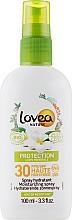 Духи, Парфюмерия, косметика Солнцезащитный спрей - Lovea Protection Bio Sun Spray SPF30