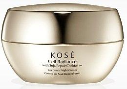 Духи, Парфюмерия, косметика Восстанавливающий ночной крем для лица - KOSE Soja Repair Cocktail Cell Radiance Recovery Night Cream