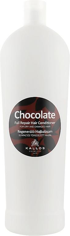 """Кондиционер для сухих и поврежденных волос """"Шоколад"""" - Kallos Cosmetics Chocolate Full Repair Conditioner"""