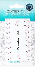 Духи, Парфюмерия, косметика Наклейки для дизайна ногтей, fda-5 - Zinger Nail Art Sticker 105