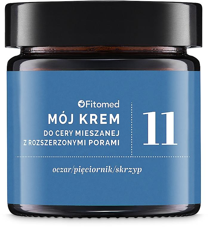 Крем для комбинированной и жирной кожи №11 - Fitomed My Cream No. 11