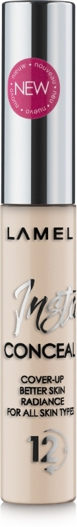 Жидкий консилер для лица - Lamel Professional Insta Conceal (New)