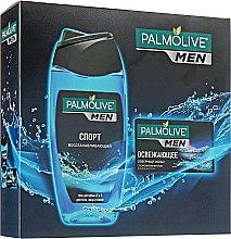 """Парфумерія, косметика Набір """"Спорт і Північний океан"""" - Palmolive Men (sh/gel/250ml + soap/90ml)"""
