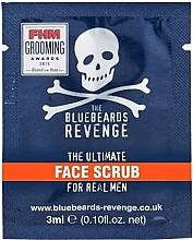 Духи, Парфюмерия, косметика Скраб для лица - The Bluebeards Revenge Face Scrub (тестер)