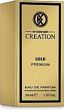 Духи, Парфюмерия, косметика Kreasyon Creation Gold Premium - Парфюмированая вода