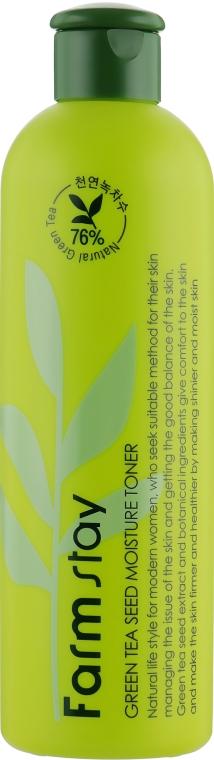 Очищающий тонер для лица - FarmStay Green Tea Seed Moisture Toner