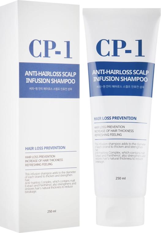 Шампунь для профилактики и лечения выпадения волос - Esthetic House CP-1 Anti-Hair Loss Scalp Infusion Shampoo