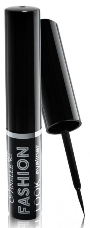 Подводка для глаз жидкая - Ninelle Fashion Look Eyeliner