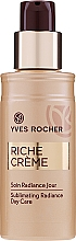 Духи, Парфюмерия, косметика Осветляющий лосьон против морщин - Yves Rocher Riche Crème Sublimating Radiance Day Care