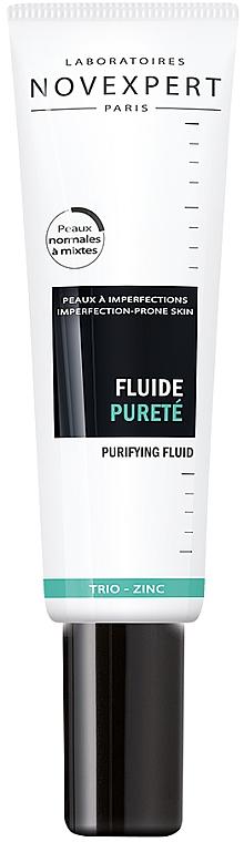 Флюид от недостатков кожи с цинком - Novexpert Trio-Zinc Purifying Fluid
