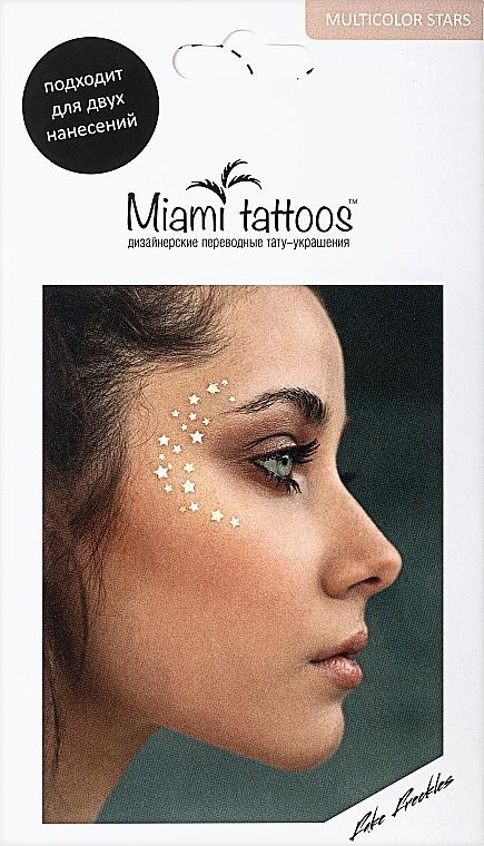 Переводные тату-веснушки - Miami Tattoos Super Stars 3 Colors