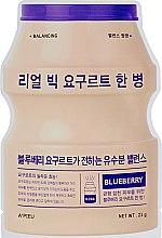 """Духи, Парфюмерия, косметика Тканевая маска """"Йогурт голубика"""" - A'pieu Real Big Yogurt One Bottle Mask Blueberry"""