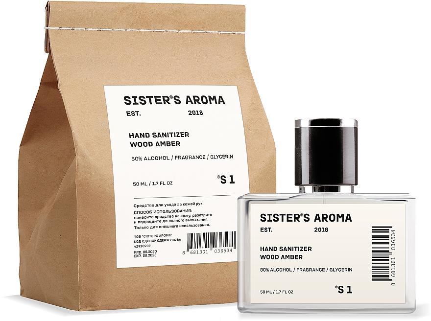 Дезинфицирующее средства для рук - Sister's Aroma 1 Hand Sanitizer