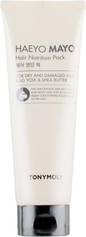 Питательная маска для сухих и поврежденных волос - Tony Moly Haeyo Mayo Hair Nutrition Pack