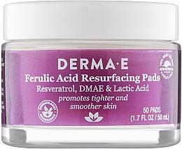 Духи, Парфюмерия, косметика Отшелушивающие пилинг-диски для лица - Derma E Ferulic Acid Resurfacing Pads