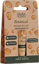 Духи, Парфюмерия, косметика Бальзам для губ с маслом янтаря - Laura Conti Botanical Lip Balm