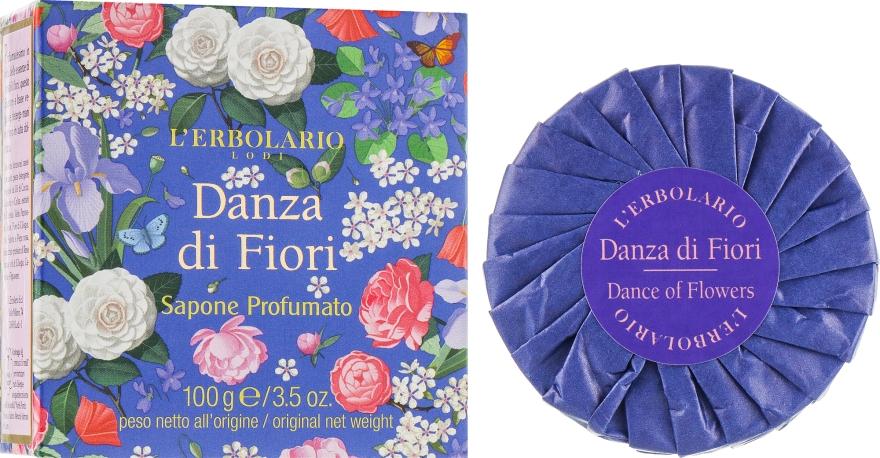 "Мыло ароматизированное ""Вальс цветов"" - L'Erbolario Danza Di Fiori Sapone Profumato"