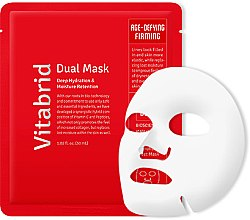 Духи, Парфюмерия, косметика Увлажняющая антивозрастная маска для лица - Vitabrid Peptibrid Dual Mask Age-Defying & Firming