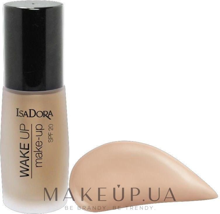 Тональная основа - IsaDora Wake Up Make-Up Foundation SPF 20 — фото 06 - Cool Beige
