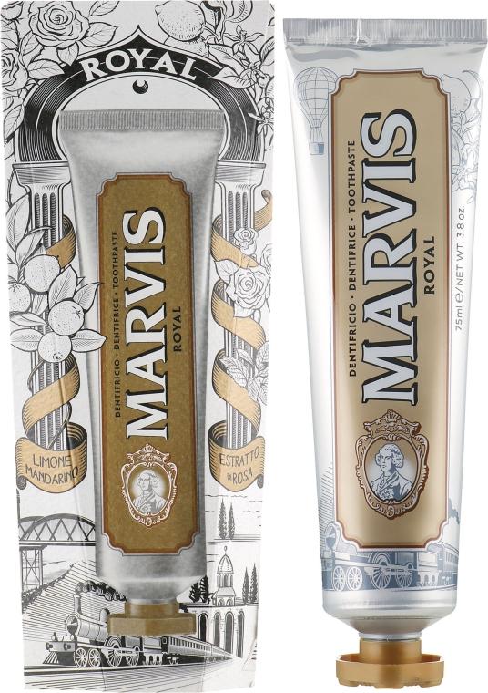"Зубная паста ""Royal"" - Marvis Royal Limited Edition Toothpaste"