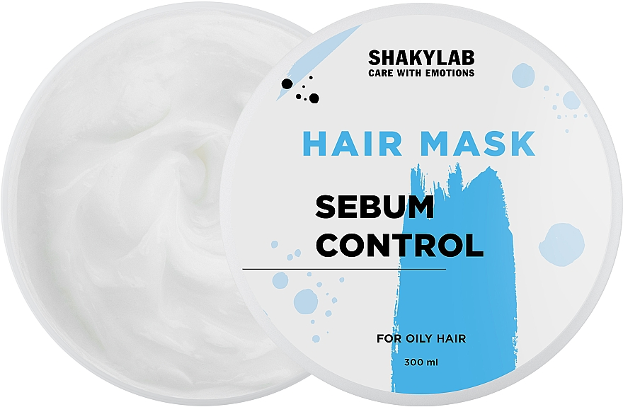 "Маска для жирных волос ""Sebum Control"" - SHAKYLAB Hair Mask For Oily Hair"