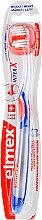Духи, Парфюмерия, косметика Мягкая зубная щетка, прозрачная с сине-оранжевым - Elmex Toothbrush Caries Protection InterX Soft Short Head