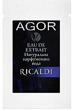 Духи, Парфюмерия, косметика Agor Ricaldi - Парфюмированная вода (пробник)