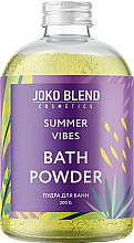 Духи, Парфюмерия, косметика Бурлящая пудра для ванны - Joko Blend Summer Vibes