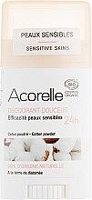 Духи, Парфюмерия, косметика Дезодорант-стик - Acorelle Deodorant Stick Gel Cotton Powder