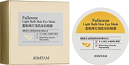 Духи, Парфюмерия, косметика Гидрогелевые коллагеновые патчи от темных кругов под глазами - Jomtam Fullerene Light Bulb Muscle Eye Mask