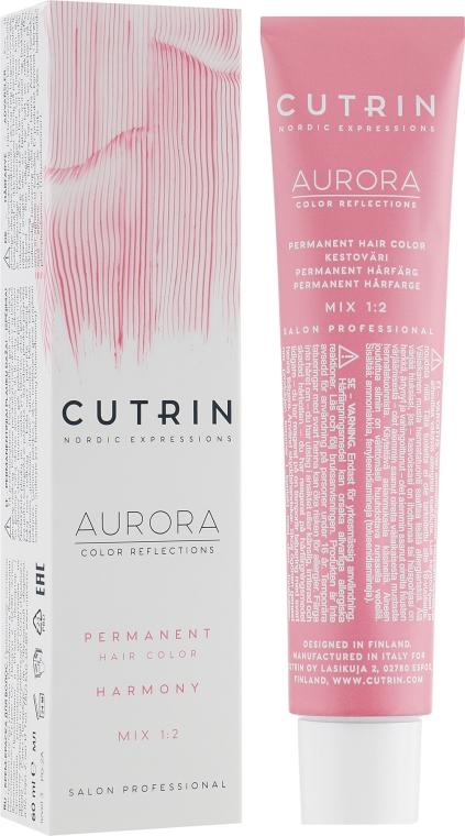 Стойкая крем-краска для волос - Cutrin Aurora Color Reflection