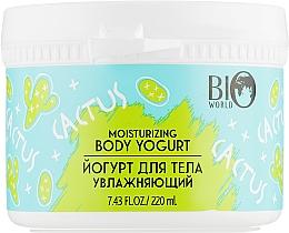Духи, Парфюмерия, косметика Йогурт для тела увлажняющий - Bio World Secret Life Cactus Moisturizing Body Yogurt