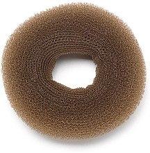 Духи, Парфюмерия, косметика Резинка-шиньон для волос круглая 10202, 80 мм, Brown - Kiepe