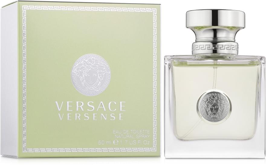 Versace Versense - Туалетная вода — фото N1