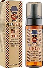 Мусс-пена для бритья - Barba Italiana Monte Bianco — фото N1