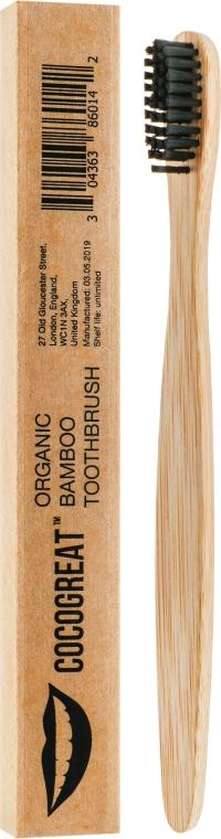 Бамбуковая зубная щетка, средней жесткости - Cocogreat