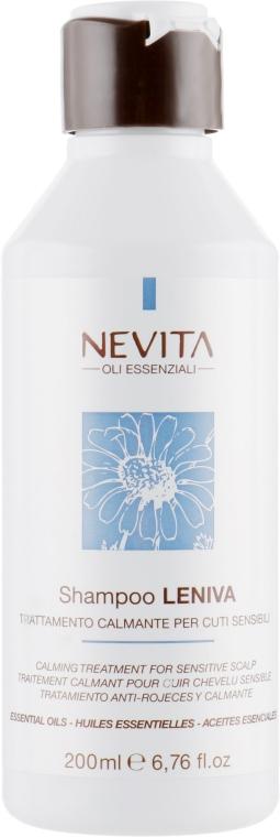 Шампунь для чувствительной кожи головы - Nevitaly Nevita Leniva Shampoo