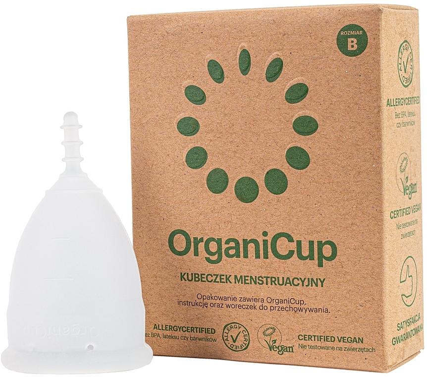 Менструальная чаша, размер В - OrganiCup