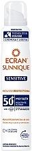 Духи, Парфюмерия, косметика Солнцезащитный мусс - Ecran Sun Lemonoil Sensitive Mousse SPF50+