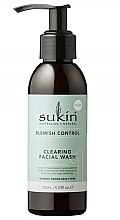 Духи, Парфюмерия, косметика Очищающий гель для умывания - Sukin Blemish Control Clearing Facial Wash